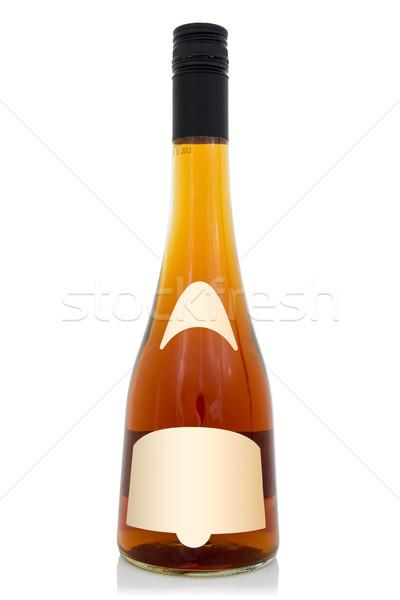 стекла бренди бутылку виски коньяк винта Сток-фото © Grazvydas