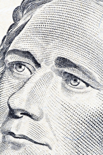 Alexander Hamilton's ten dollars portrait Stock photo © Grazvydas