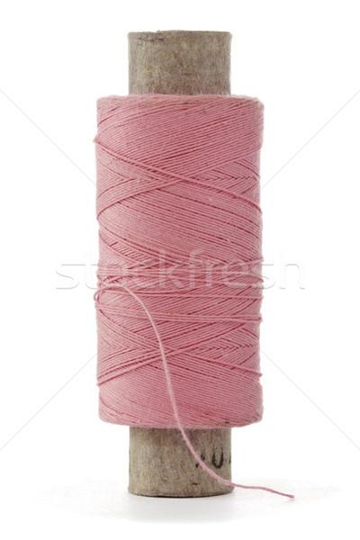 pink bobbin thread Stock photo © Grazvydas