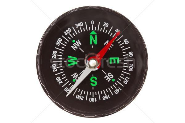 compass isolated on  white Stock photo © Grazvydas