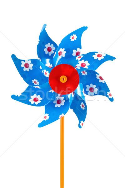 blue children's pinwheel Stock photo © Grazvydas