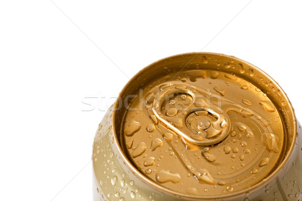 Bebida fria topo cerveja lata água Foto stock © Grazvydas