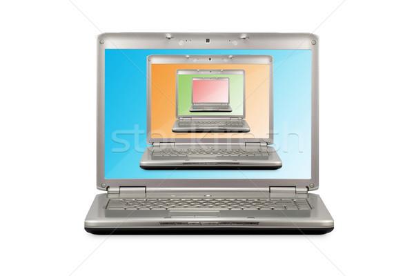 Сток-фото: компьютер · технологий · дизайна · ноутбука · контроля
