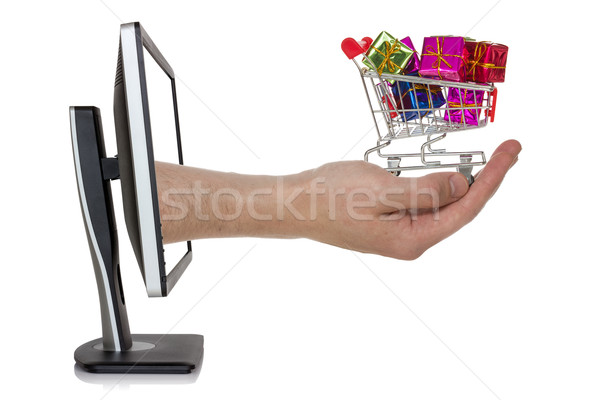Concept of e-shopping Stock photo © Grazvydas