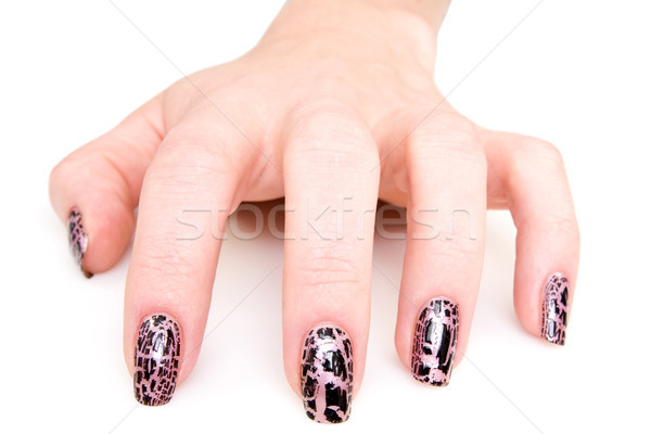 manicured woman hand Stock photo © Grazvydas