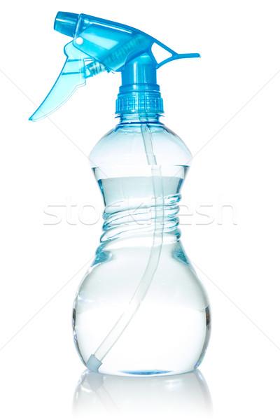 Blue plastic spray bottle Stock photo © Grazvydas