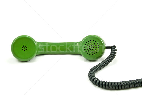 old telephone receiver Stock photo © Grazvydas