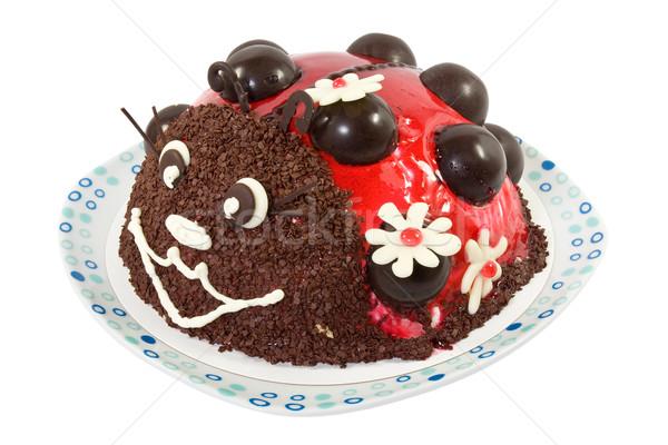 Ladybird cake  Stock photo © Grazvydas