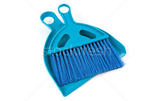 blue shovel and brush Stock photo © Grazvydas
