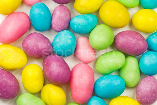 colorful candy coated chocolate sweets Stock photo © Grazvydas
