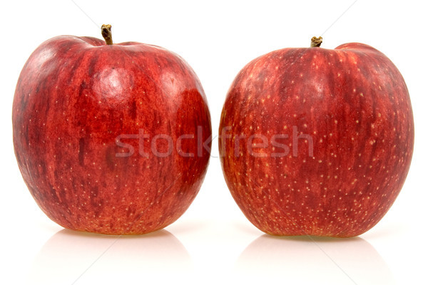 two fresh rip apples Stock photo © Grazvydas