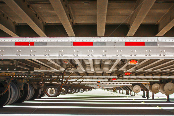 Long View Under Trailers. Stock photo © gregorydean