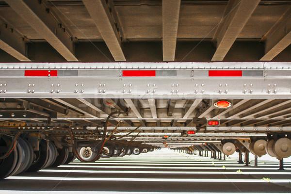 長い 表示 リブ 多くの トラック 道路 ストックフォト © gregorydean