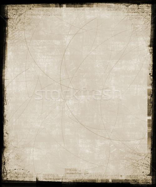 Tan Grunge Background Stock photo © grivet