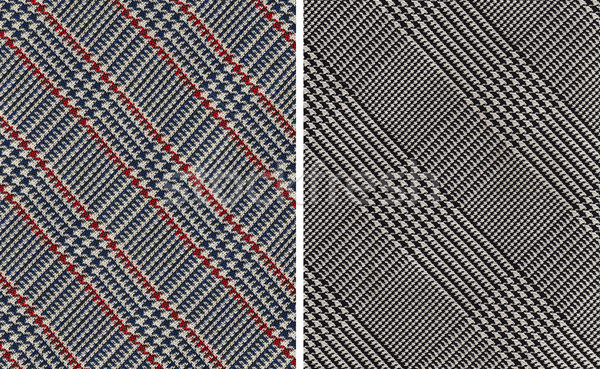 Stock photo: Classic Plaids Textile Swatches