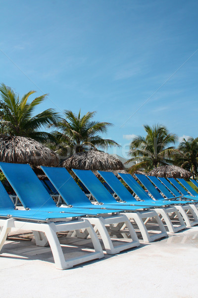 Chairs on a Resort Stock photo © grivet