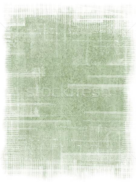 Stock photo: Green antique texture