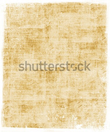 Wheat Colored Scratched Background Stock photo © grivet