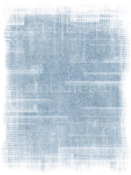 Blue Antique Grunge Texture Stock photo © grivet