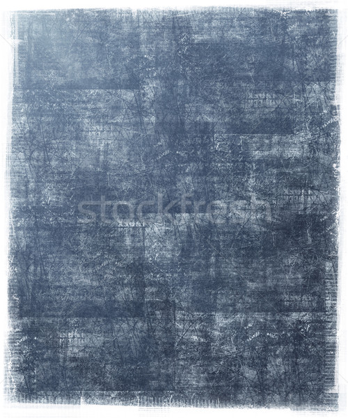 Metallic Blue Grunge Background Stock photo © grivet
