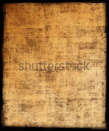 Güneşli grunge kirli çerçeve doku sanat Stok fotoğraf © grivet