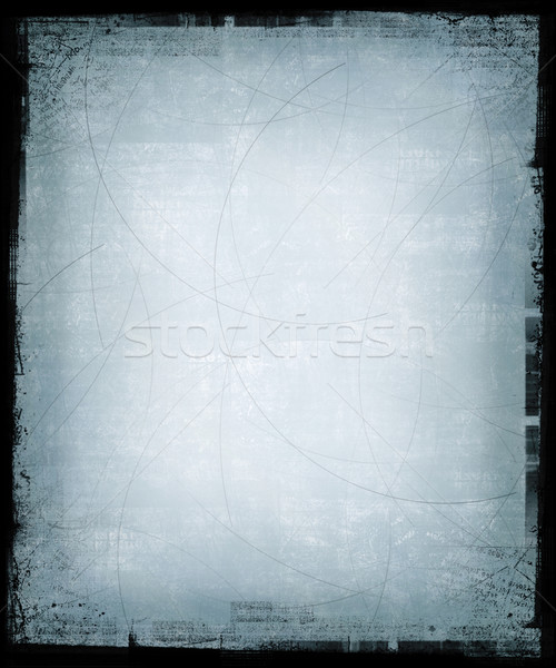 Iced Blue Grunge Background Stock photo © grivet