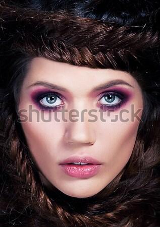 Ritratto ragazza sexy bella Foto d'archivio © gromovataya