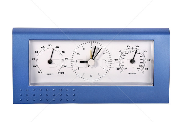 Analog weather station Stock photo © gsermek