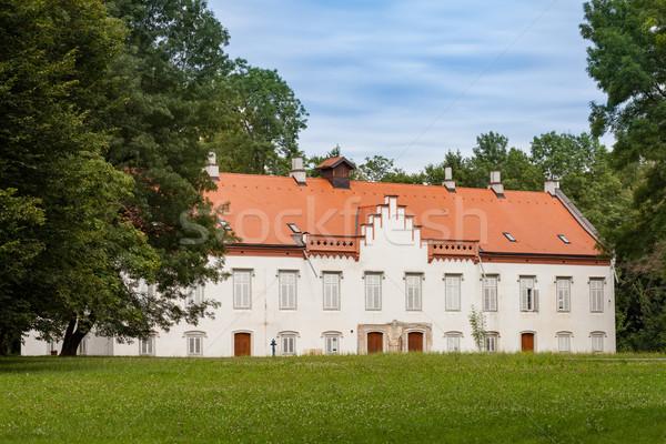Castillo Croacia casa histórico figura nubes Foto stock © gsermek