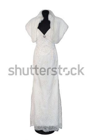 Beautiful weddings dress Stock photo © gsermek