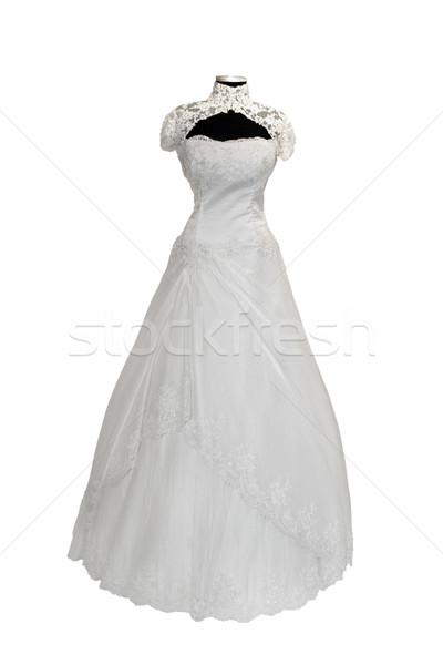 Beautiful weddings dress isolated on white  Stock photo © gsermek