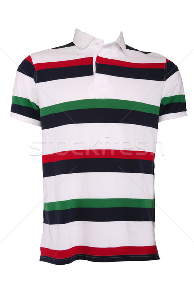 Colorful male polo shirt Stock photo © gsermek