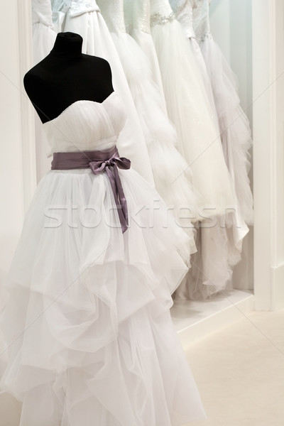 Bridal shop with mannequin Stock photo © gsermek