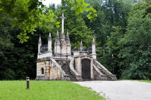 Mausoleo riposo luogo storico figura vietare Foto d'archivio © gsermek