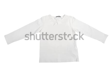 Blank white baby t-shirt Stock photo © gsermek