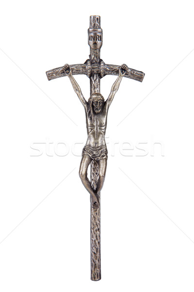 The Bent Cross Crucifix Stock photo © gsermek