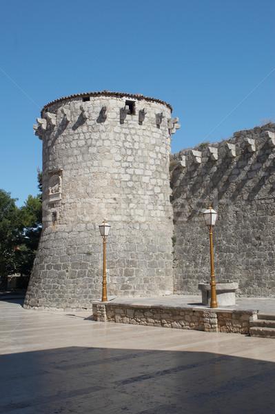 Fortress in Krk Stock photo © gsermek