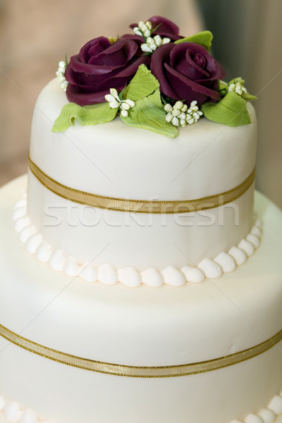 Wedding cake Stock photo © gsermek