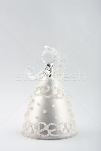 Glass Christmas Angel Stock photo © gsermek