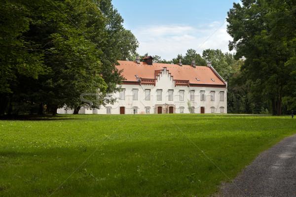 Novi Dvori Jelacicevi Castle in Zapresic Stock photo © gsermek