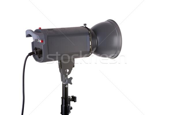 Studio reflector isolated on white Stock photo © gsermek