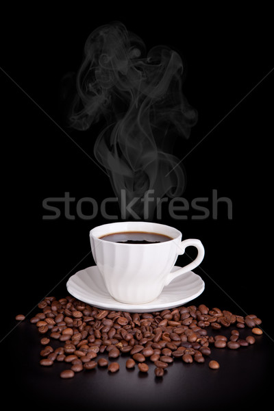 Hot coffee Stock photo © gsermek