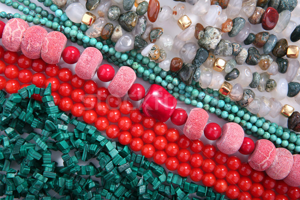 Jewelry mix Stock photo © gsermek