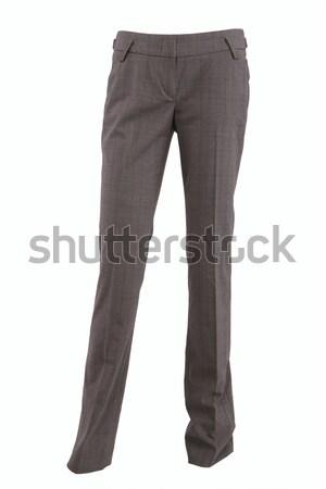 Female checkered pants Stock photo © gsermek