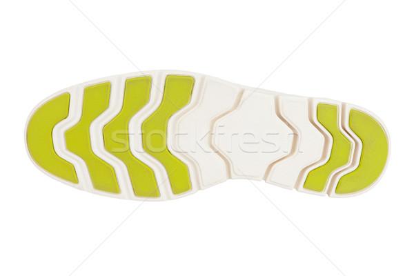 Stock photo: Shoe sole isolated on white