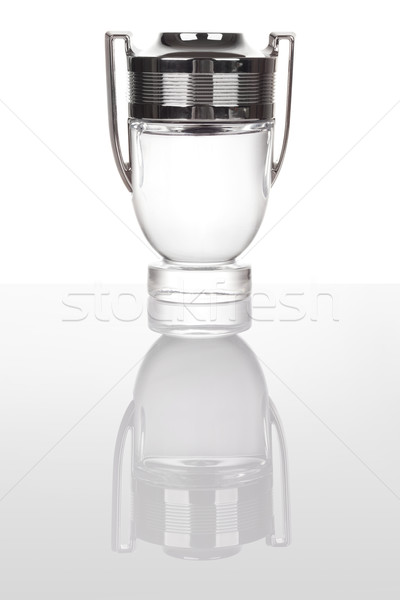 Goblet made of glass and silver Stock photo © gsermek