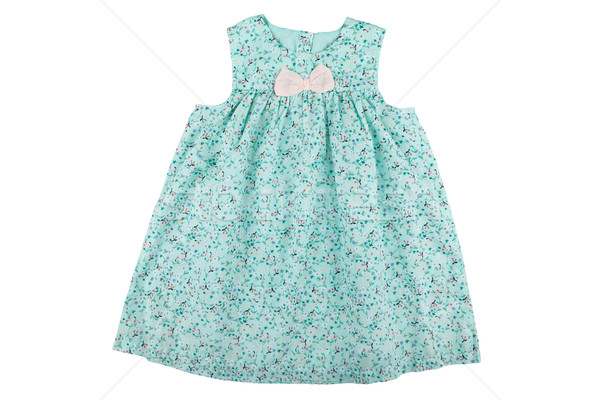 Baby dress with floral print Stock photo © gsermek