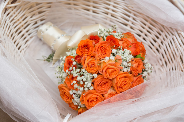 Wedding bouquet Stock photo © gsermek