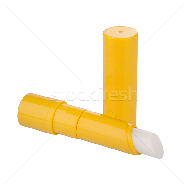 Lip balm isolated on white Stock photo © gsermek