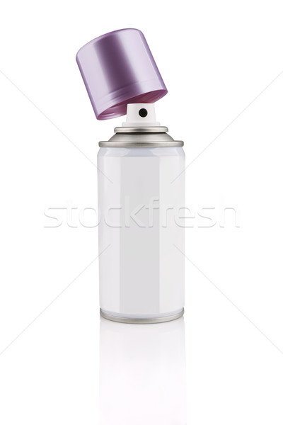 Spray Cosmetic Perfume, Deodorant, Freshener, makeup fixing spra Stock photo © gsermek